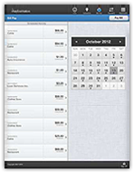 iPad Screen Example